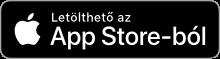 App Store gomb